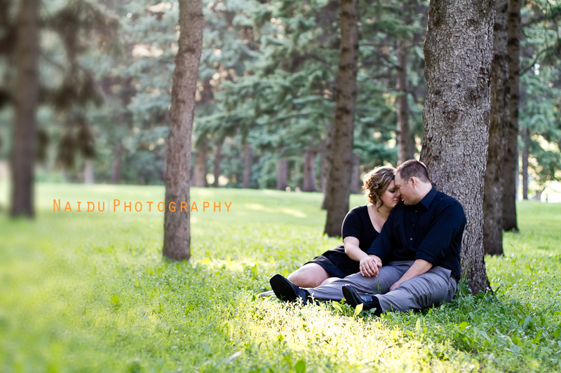 Saskatoon Engagement and Wedding Photographer Naidu Photography - Kelly and Byron Engagement Shoot
