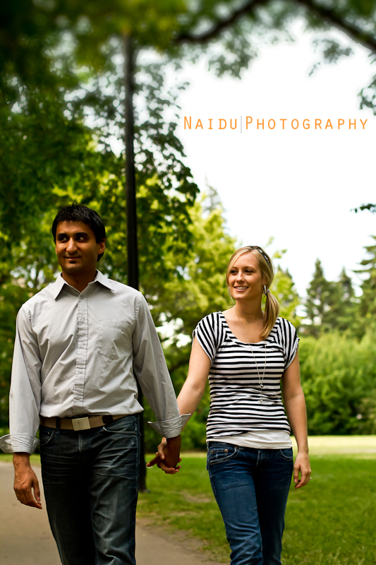 Saskatoon Engagement and Wedding Photographer Naidu Photography - Nicole and Jayesh Engagement Shoot